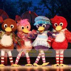 幼儿园丑小鸭舞台剧服装童话剧服装_风格汇美演出服饰