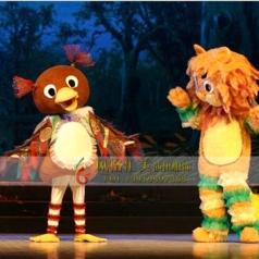 童话丑小鸭演出服装女款舞台服装定制_风格汇美演出服饰