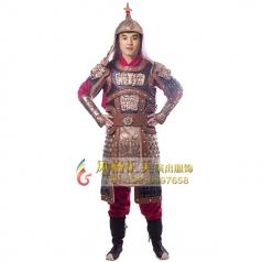 古装铠甲服舞台演出服装定制_风格汇美演出服饰