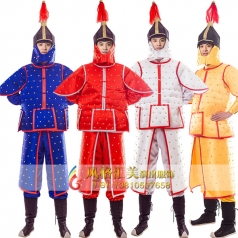 古装将军少将舞台古装服装定做_风格汇美演出服饰