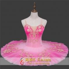 新款粉红色系芭蕾舞台服装定做_风格汇美演出服饰