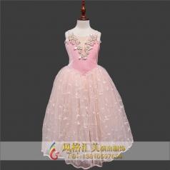 粉色系芭蕾舞演出服装舞蹈服定做_风格汇美演出服饰