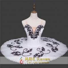 新款芭蕾蓬蓬裙舞台裙定制_风格汇美演出服饰