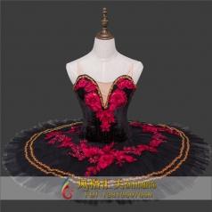 新款芭蕾舞服绣花舞台服装定制_风格汇美演出服饰