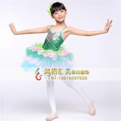 儿童舞蹈演出服装专业定制_风格汇美演出服饰