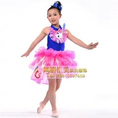 新款儿童舞台演出服装定制厂家_风格汇美演出服饰