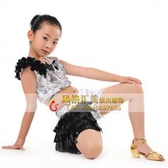新款儿童舞蹈演出舞台服装定做_风格汇美演出服饰