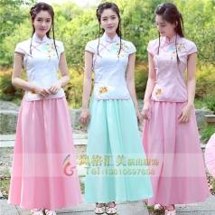 民国古装五四青年女装民国学生古代演出服装