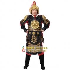 新款古装将军铠甲古代道具盔甲定制 将军铠甲厂家