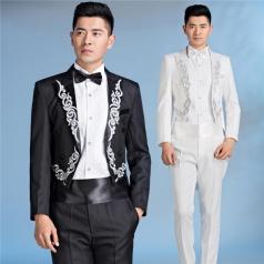 男士成人合唱西装演出服装合唱礼服套装表演服