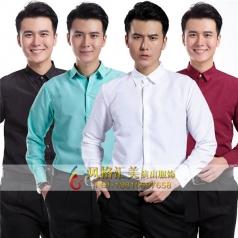 男士演出礼服衬衫男士表演礼服定制设计厂家