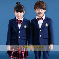 学校儿童演出表演服装定制设计儿童校园服装厂家