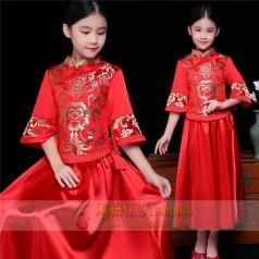 新款儿童演出表演礼服定制设计厂家