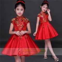 新款儿童舞台演出礼服定制设计表演礼服厂家直销