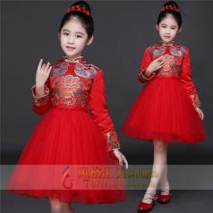 新款儿童舞台表演礼服定制设计厂家