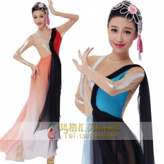 新款古典舞台服装表演服装定制设计厂家
