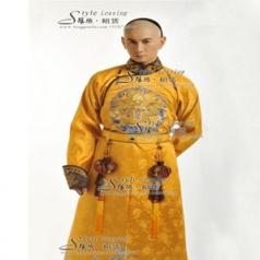 穿越剧步步惊心服装  四阿哥服装 清朝皇帝服装_风格汇美演出服饰
