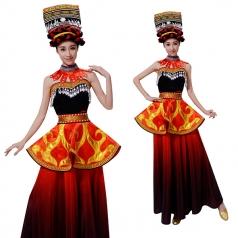 新款高山族舞蹈服装定制设计厂家直销