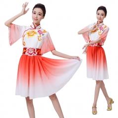 新款古典演出服装定制设计短款表演服装定制设计厂家