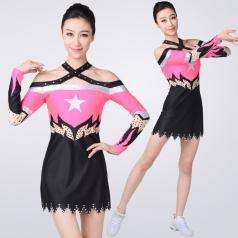 新款艺术体操服装健美操服高中生比赛服装艺考女竞技体操演出服装