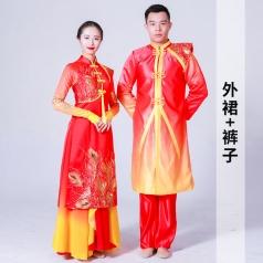 舞蹈演出服装男女款舞蹈演出服装定制款式新款舞蹈表演服装定制!
