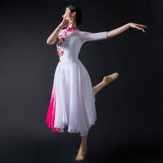 舞台演出服装女款中国风古典舞蹈表演服装定制!