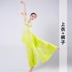 新款舞台演出服装女款舞团演出服装成人舞蹈服古典演出服装定制!