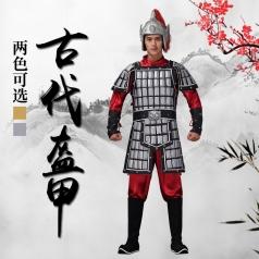 古典将军影视演出服装大型晚会古典歌舞演出节目战将盔甲服装设计与定制!