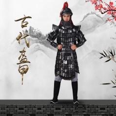 大型歌舞剧演出服装古代战将男款盔甲影视、景区真人秀盔甲装束定制!