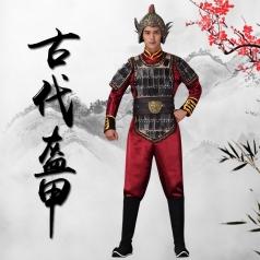 古典影视盔甲舞台歌舞剧演出服装古典将军盔甲真人秀舞台演出服装定制