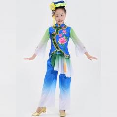 校园舞蹈演出服装艺术舞台演出服装定制款式儿童舞台表演服装定制!