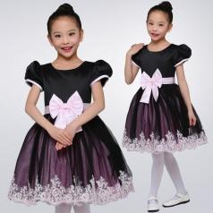 小学生合唱比赛演出服装黑色合唱表演服装儿童合唱演出服装定制款式