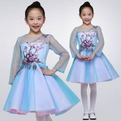 校园合唱比赛演出服装定制儿童合唱演出服装蓬蓬裙服装定制工厂