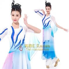 经典剧目《洛神》舞台演出服装艺考舞蹈演出服装新款舞台演出服装定制!