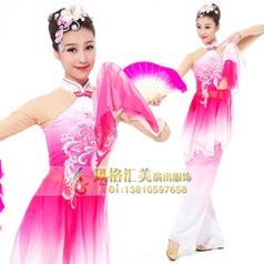 经典剧目《胶州秧歌》舞蹈演出服装艺考舞台演出服装新款舞蹈演出服装定制!