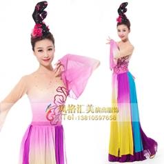 经典剧目《且看行云》舞蹈演出服装艺考舞蹈表演服装女款舞蹈演出服装定制!