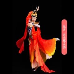 经典剧目《敦煌飞天》舞蹈演出服装艺考敦煌反弹琵琶舞蹈演出服装新款舞蹈演出服装定制!