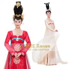 古典舞蹈演出服装女款艺考舞蹈演出服装舞台表演服装新款舞蹈表演服装设计定制!